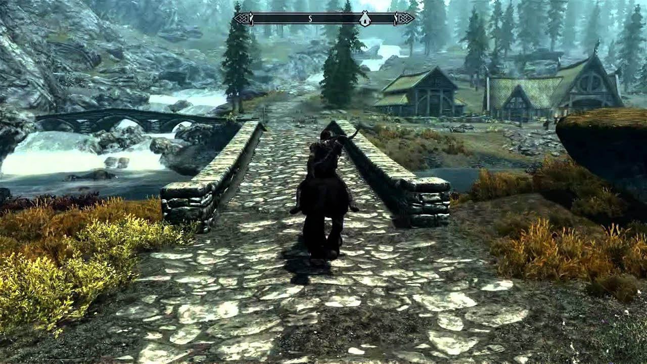 skyrim how to travel faster