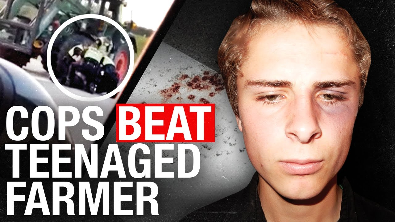 HELP JEREMIA: Alberta Sheriffs Pull Teenager From Farm Tractor After Questioning Breathalyzer