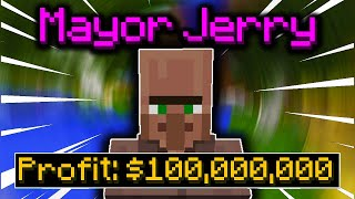 How To Make MIĻLIONS With MAYOR JERRY!! (Hypixel Skyblock Jerry Mayor Guide)