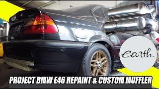 Project Repaint and Custom Muffler on Modifikasi BMW E46 | Part.1 #carvlog