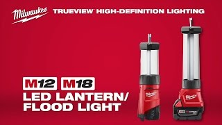 Milwaukee® M12™ & M18™  Lantern/Flood Lights