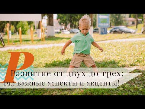 Развитие ребенка от 2 до 3 лет! | Важные акценты в этом возрасте!
