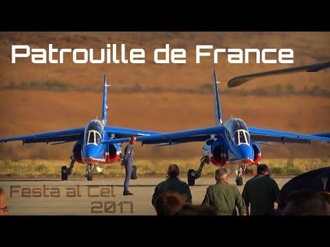 Festa al Cel 2017 - Patrouille de France FULL SHOW - HD50fps