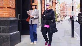 Стрит стайл. Как одеваются весной. Уличная мода. Городской стиль.??