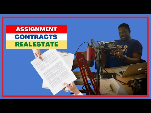 How to Find Real Estate WHOLESALE ASSIGNMENT CONTRACTS