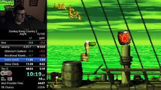(48:07) Donkey Kong Country 2 any% speedrun