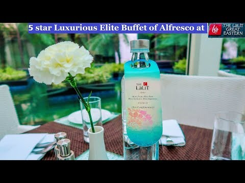 ALFRESCO - The LaLiT Great Eastern Royal Buffet Lunch , Kolkata