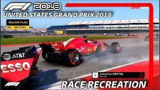 F1 2018 GAME: RECREATING THE 2018 UNITED STATES GRAND PRIX