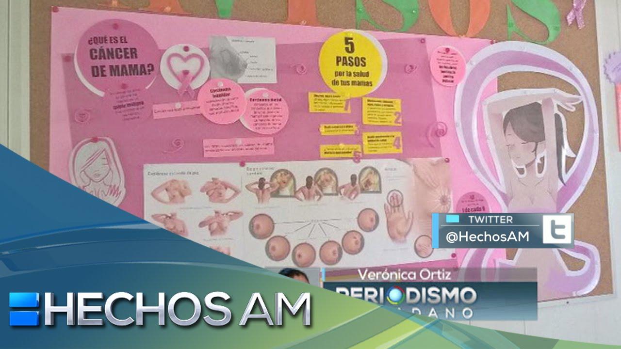 Reporte Ciudadano Periodico Mural Con Informacion Del Cancer De