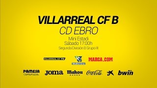 Villarreal B vs CD Ebro