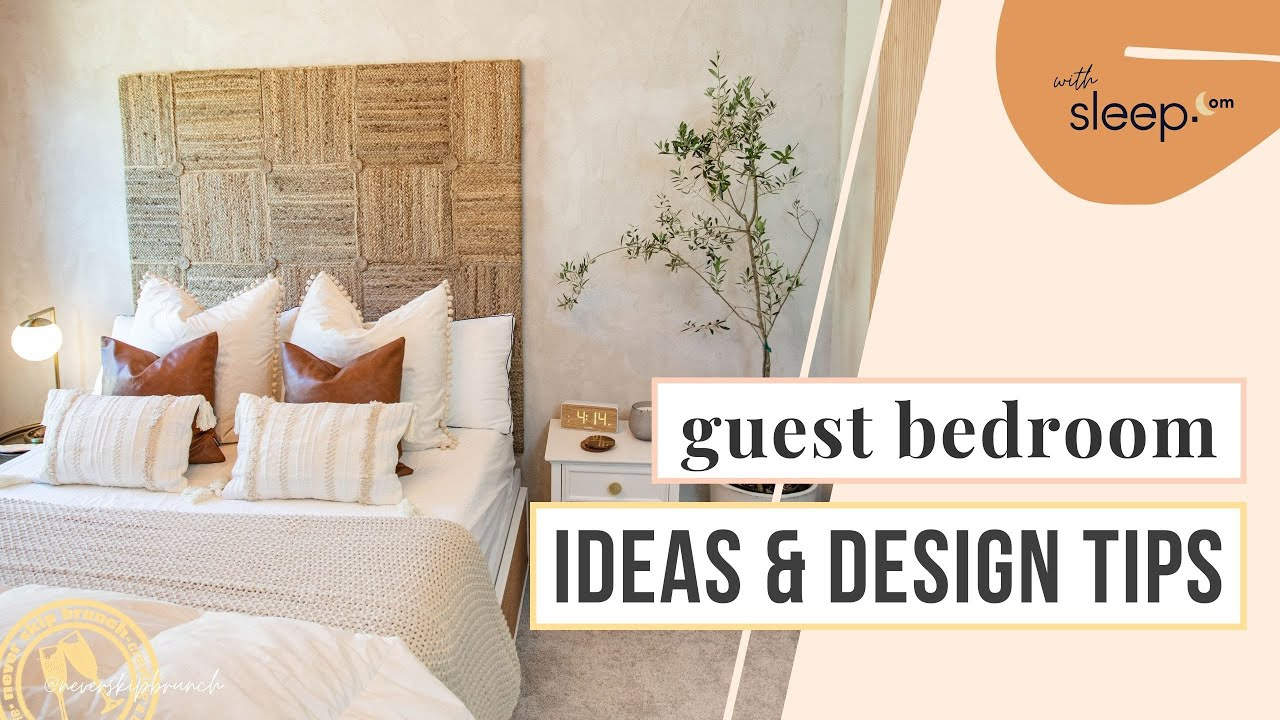 Simple Guest Room Decorating Ideas Guest Bedroom Ideas Budget Youtube