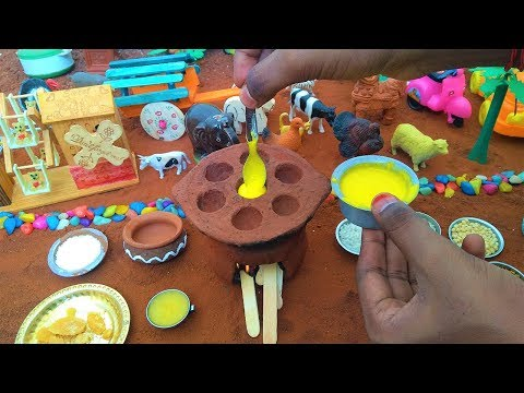 Miniature Sweet Paniyaram | Miniature Cooking | Sweet Paniyaram Recipe | Mini Food