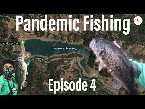 Guadalupe Reservoir Pandemic Bank Fishing Episode 4