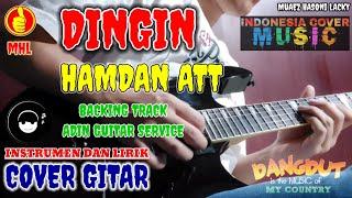 DINGIN - HAMDAN ATT COVER GITAR BACKING TRACK BY ADIN GUITAR SERVICE