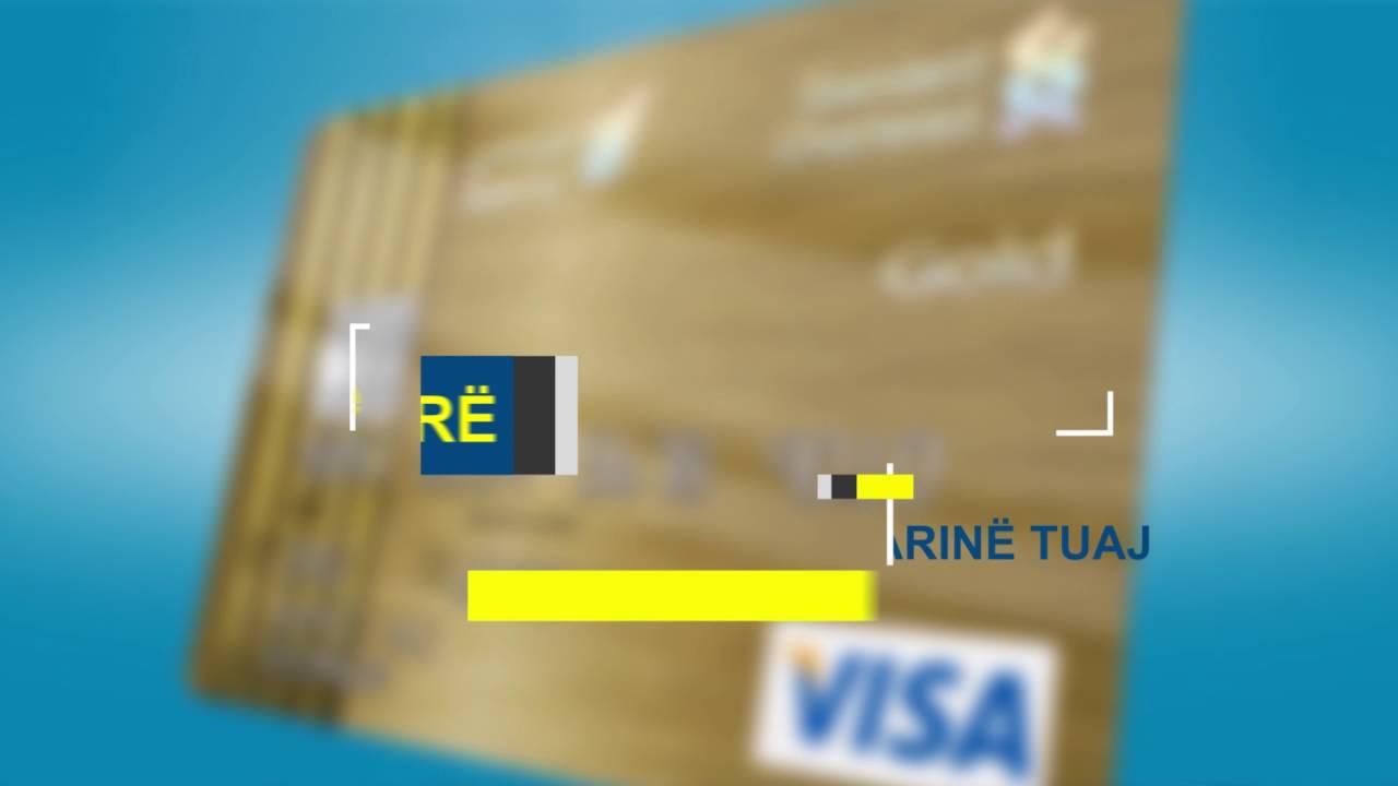 Karta E Debitit Visa Youtube