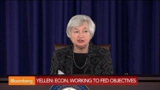 Yellen: Unemployment Elevated, Economy Rebounding