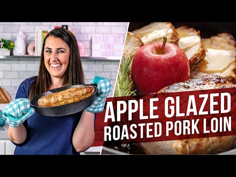 How to Make Apple Glazed Roasted Pork Loin