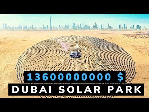 Inside $13.6 Billion World's Largest Mega Solar Park in the World - Dubai - 5000 Megawatts!