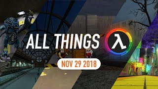 Half-Life: Absolute Zero on Steam, New 2D Half-Life Game and More - All Things Lambda (29 Nov 2018)
