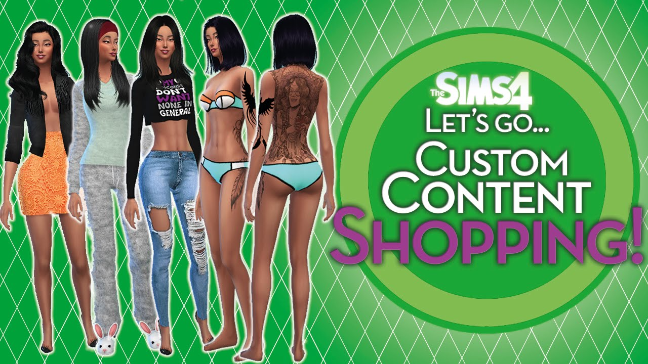 how to add custom content to sims 2