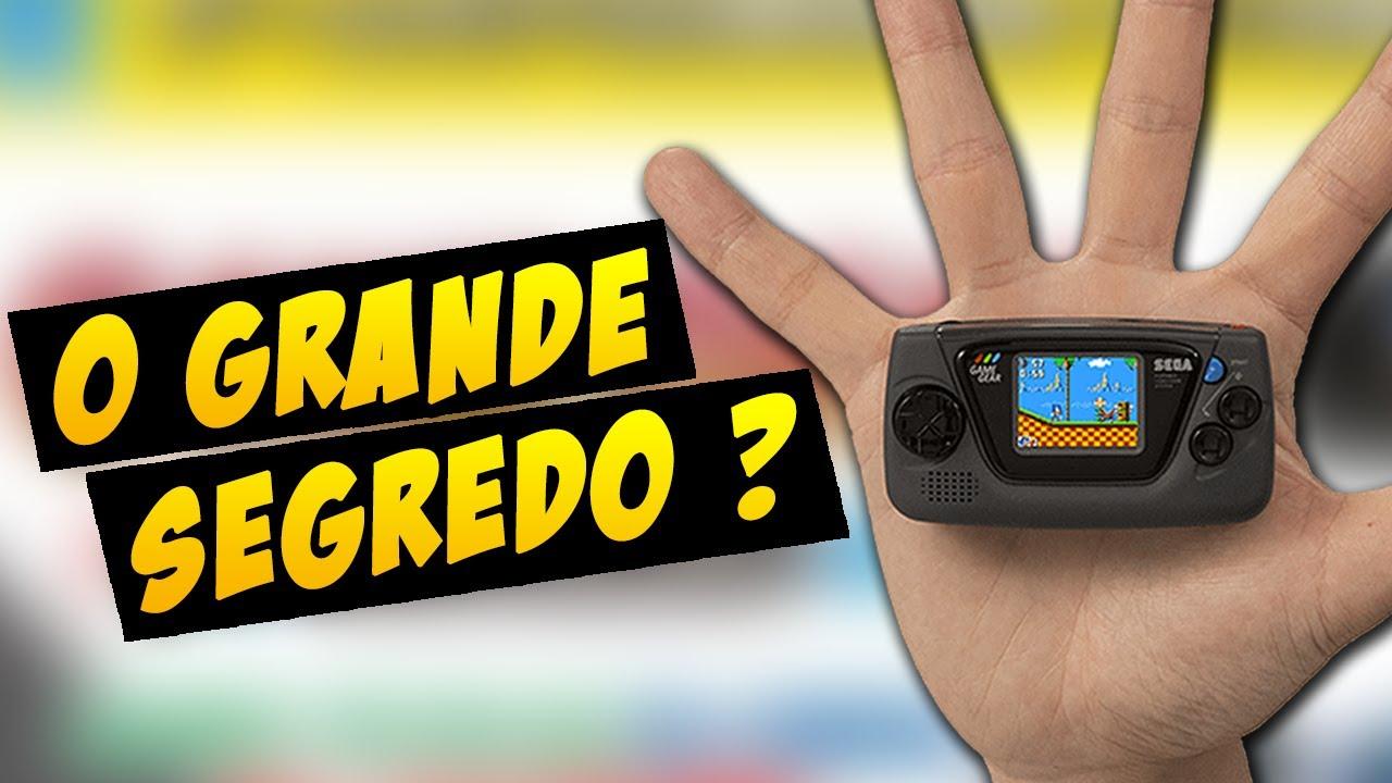 REVELADO O NOVO CONSOLE DA SEGA!