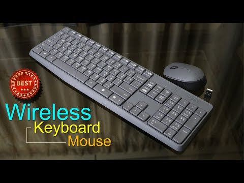 Logitech MK235 Unboxing & Review (in Hindi) Wireless Keyboard & Mouse Combo