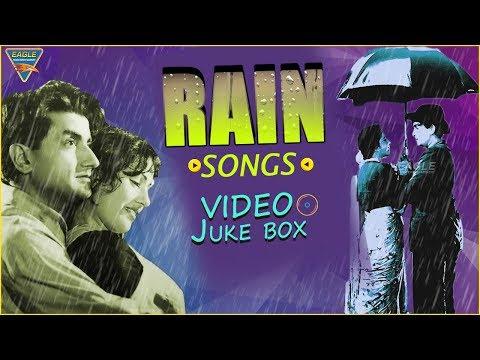 Rain Video Songs | Jukebox | Raj kapoor | Nargis | Top 5 Video Songs | Vol-1 | Eagle Hindi Movies