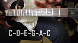 SOUKOUS GUITAR CLINIC  6 (scales & chords)