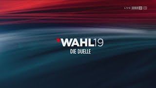 Wahlduelle 1 / Wahl 19 | ORF2