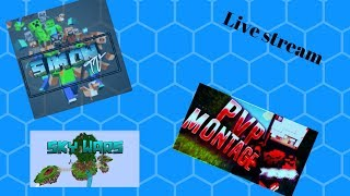 We go to play Minecraft mini games + Roblox CZ/SK