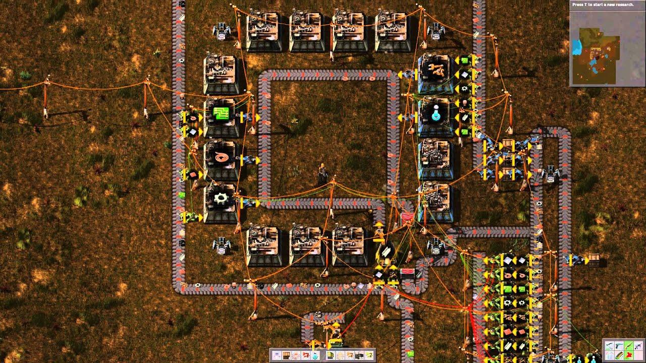 Factorio Effecient Compact Factory