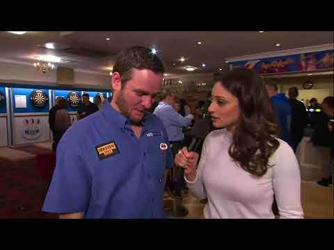 BDO World Darts Championship 2018 - Funny Interview Chris Harris
