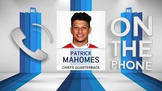 Chiefs QB Patrick Mahomes Talks Reid, Stats, Records & More w/Rich Eisen | Full Interview | 11/6/18