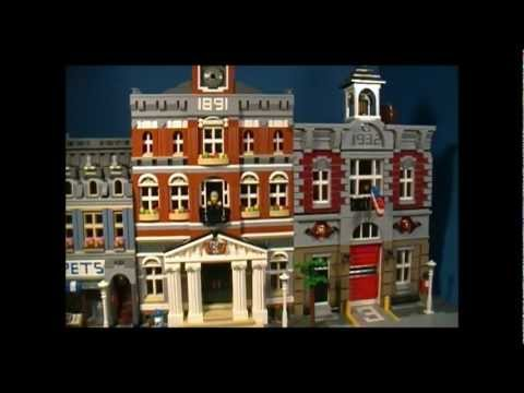 Lego 10224 Review Town Hall Modular Building Series