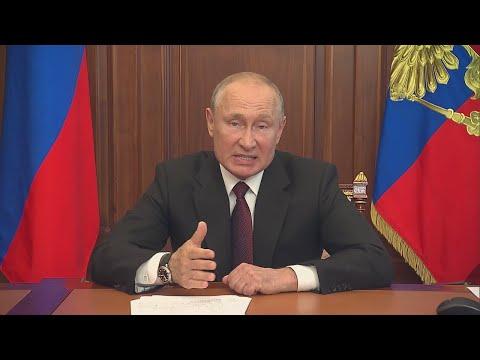 СРОЧНО! Новое важное ОБРАЩЕНИЕ Путина к народу