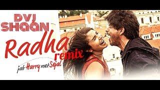 Radha Remix | Dvj Shaan | Jab harry met sejal | sharukh khan
