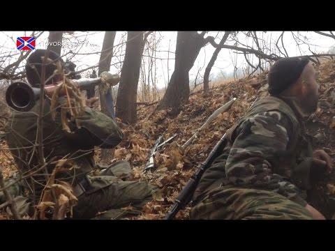 07.11.2014 Battle for Nikishino. Donetsk region.