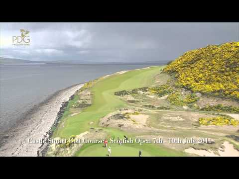 Aerial Filming of Castle Stuart Golf Course Inverness