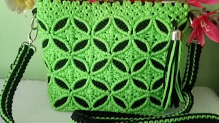 Download Video tas tali kur motif daun kecil bulat warna hijau dan hitam MP3 3GP MP4