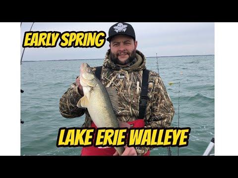 Early Spring Lake Erie Walleye