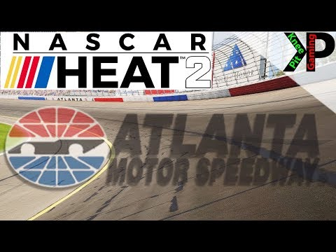 Nascar Heat 2 - Atlanta Setup and Gameplay (Trucks,Xfinity,Cup)