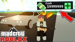 💸€500,000 MONEY! - MAD CITY ROBLOX
