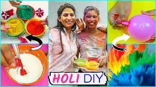 HOLI DIY - Homemade Colours/Gift Ideas  | DIYQueen
