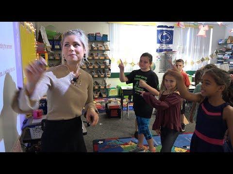 Education Spotlight-Gulf Gate Elementary School-Teacher of the Year