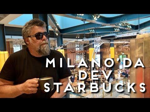 İÇİNDE BAR OLAN STARBUCKS - MİLANO ( italya milan)