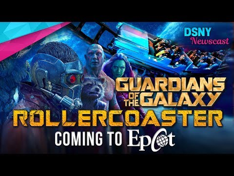 Guardians of the Galaxy ROLLERCOASTER Coming to EPCOT - Disney News - 10/3/17
