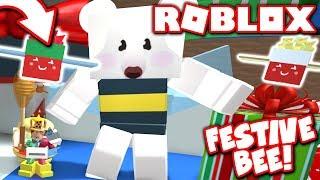Eu tenho o * NEW * LIMITED abelha festiva em Bee Swarm simulador de Natal atualização!! Roblox
