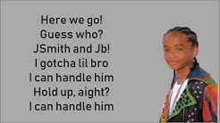 Never say never - Justin Bieber ft. Jaden Smith LYRICS