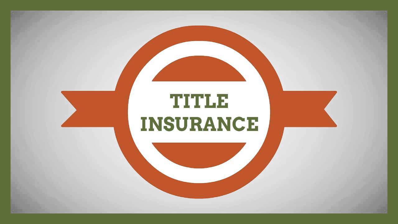 How Title Insurance Works - YouTube