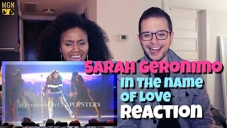 Sarah Geronimo - In The Name Of Love Reaction